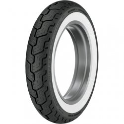 Dunlop MT90B16 White Wall Harley D402 Rear Tire Touring Flhtcu