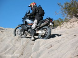 Sand Riding Techniques: How to ride a motorcycle in sand