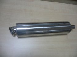 Stainless Steel Motorcycle Muffler For 150cc-1100cc - Buy Muffler