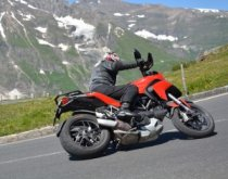 Ducati Multistrada 1200 Grossglocker Hairpin