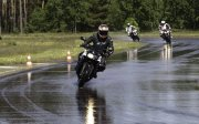 Riding the Wet track at the Contidom